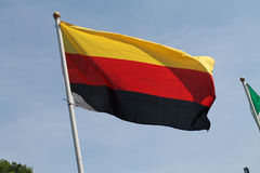 German flag flying high Stock Photography