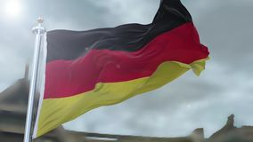 German flag stock video