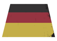 German Flag Grunged Royalty Free Stock Images