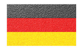 The German flag. Royalty Free Stock Photos
