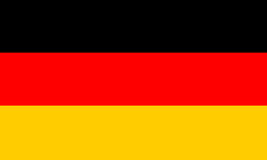 German Flag, National German Flag Vector illustration. German Flag, German Flag Vector background Royalty Free Illustration