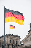 German flag Royalty Free Stock Photo