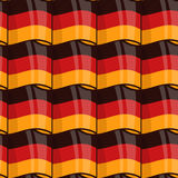 German flag seamless wrapping pattern Stock Photos