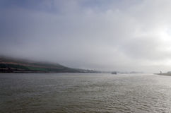 Rhine River, Germany.  Stock Images