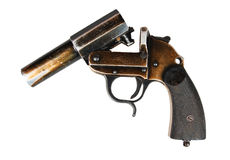 German flare gun Stock Photos
