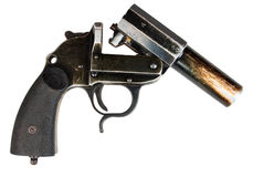 German flare gun Royalty Free Stock Photography