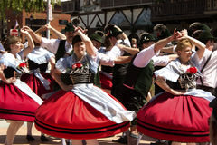 German folk dance Royalty Free Stock Images