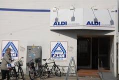 German food chain aldi Royalty Free Stock Photo