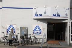 German food chain aldi Royalty Free Stock Image