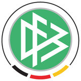 German football association logo Royalty Free Stock Image