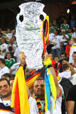 German football fans show their support Royalty Free Stock Images