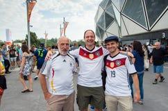 German football fans Royalty Free Stock Photo