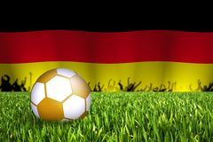 German football illustration Stock Photography