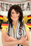 German football supporter Stock Image