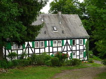 German forest house Stock Photo