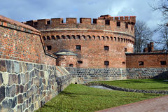 German fort Der Dohna. Kaliningrad (until 1946 Koenigsberg), Russia Stock Images