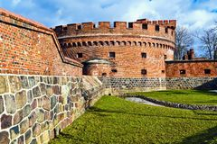German fort Der Dona. Kaliningrad (until 1946 Koenigsberg), Russia Royalty Free Stock Photos