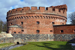 German fort Der Dona. Kaliningrad (until 1946 Koenigsberg), Russia Stock Photos