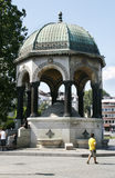 German fountain in Hippodrome, Istanbul Royalty Free Stock Image