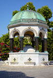 The German Fountain, Istanbul Royalty Free Stock Photo