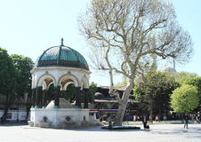 German Fountain in Istanbul Royalty Free Stock Photos
