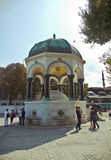 German Fountain in Istanbul Royalty Free Stock Photo