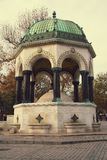 German Fountain from Istanbul, Turkey Royalty Free Stock Image