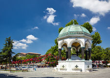 German Fountain, Istanbul Royalty Free Stock Photography