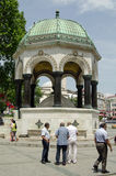 German Fountain, Istanbul Stock Images