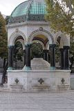German fountain in Istanbul Royalty Free Stock Photography