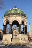 German Fountain in Sultanahmet Square, Istanbul Royalty Free Stock Image