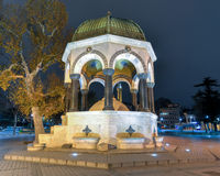 German Fountain, Sultanahmet Square, Istanbul Royalty Free Stock Photo