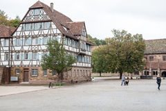 German Frame House. Which is part of the Maulbronn monastery, Germany royalty free stock images
