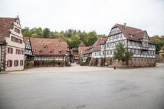 German Frame House. Which is part of the Maulbronn monastery, Germany stock photo