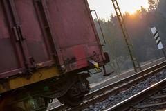 German freight train Stock Photos