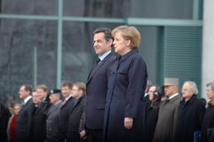 German French Minister Council Stock Photography