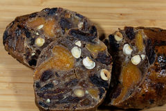 German Fruit Bread Stock Images