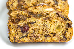 German fruitcake Stock Images