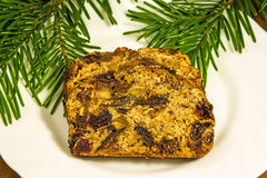 German fruitcake Royalty Free Stock Photo