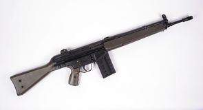 German G3 assault rifle. Royalty Free Stock Photography