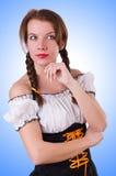 German girl Stock Photography