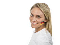 German Girl Royalty Free Stock Photography