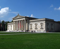 german glyptothek Monachium Obraz Royalty Free