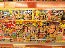 German gossip rags Royalty Free Stock Photography