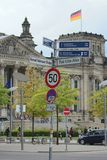 German government area Stock Photo