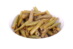 German green bean salad Stock Photography