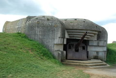 German gun battery at Longues-sur-Mer Royalty Free Stock Photography