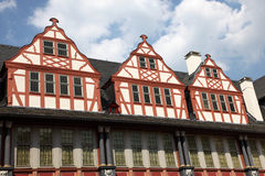 German half-timbered houses Stock Photo