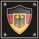 German hawk badge Royalty Free Stock Images