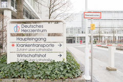 German heart centre Royalty Free Stock Photography
